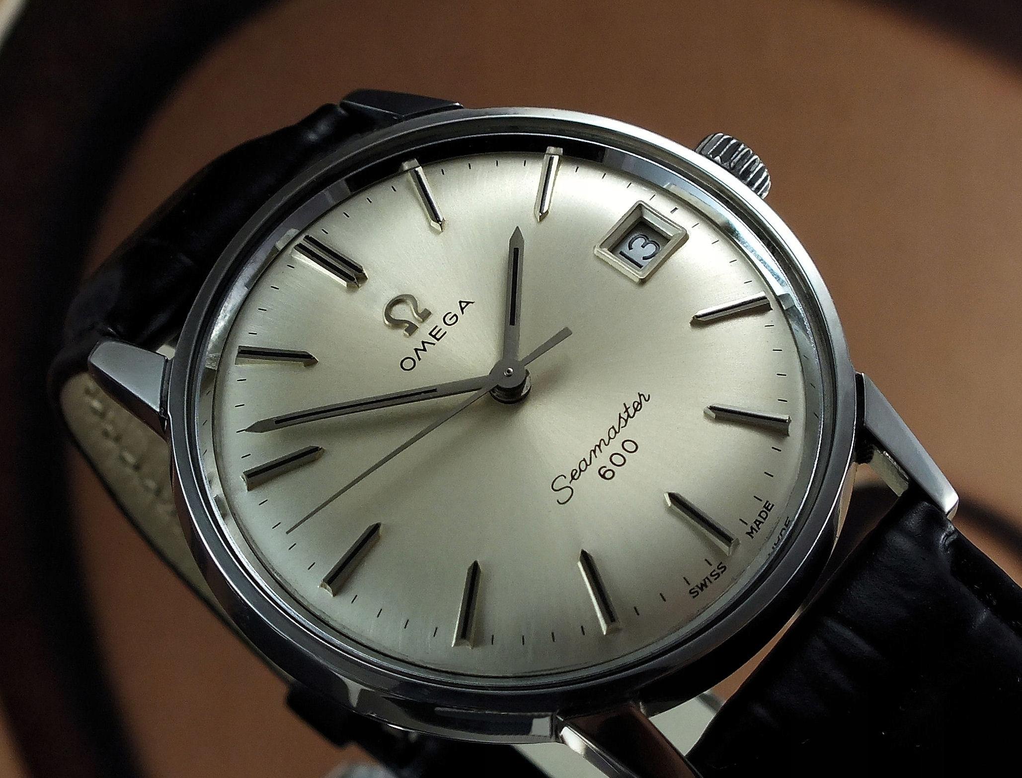 Zegarek Omega Seamaster 600 naręczny oryginał bcm