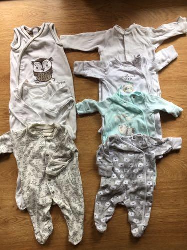 Zestaw ubranek dla niemowlaka - 50/56