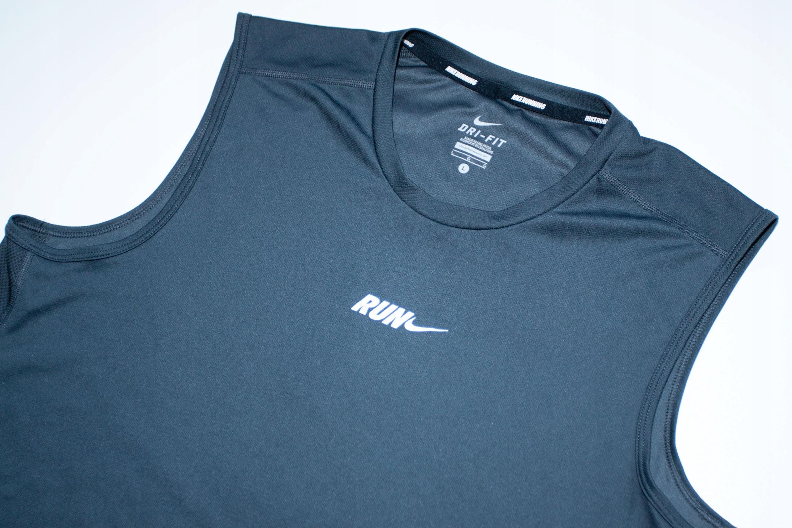 Nike Running koszulka biegowa bieganie siłownia L