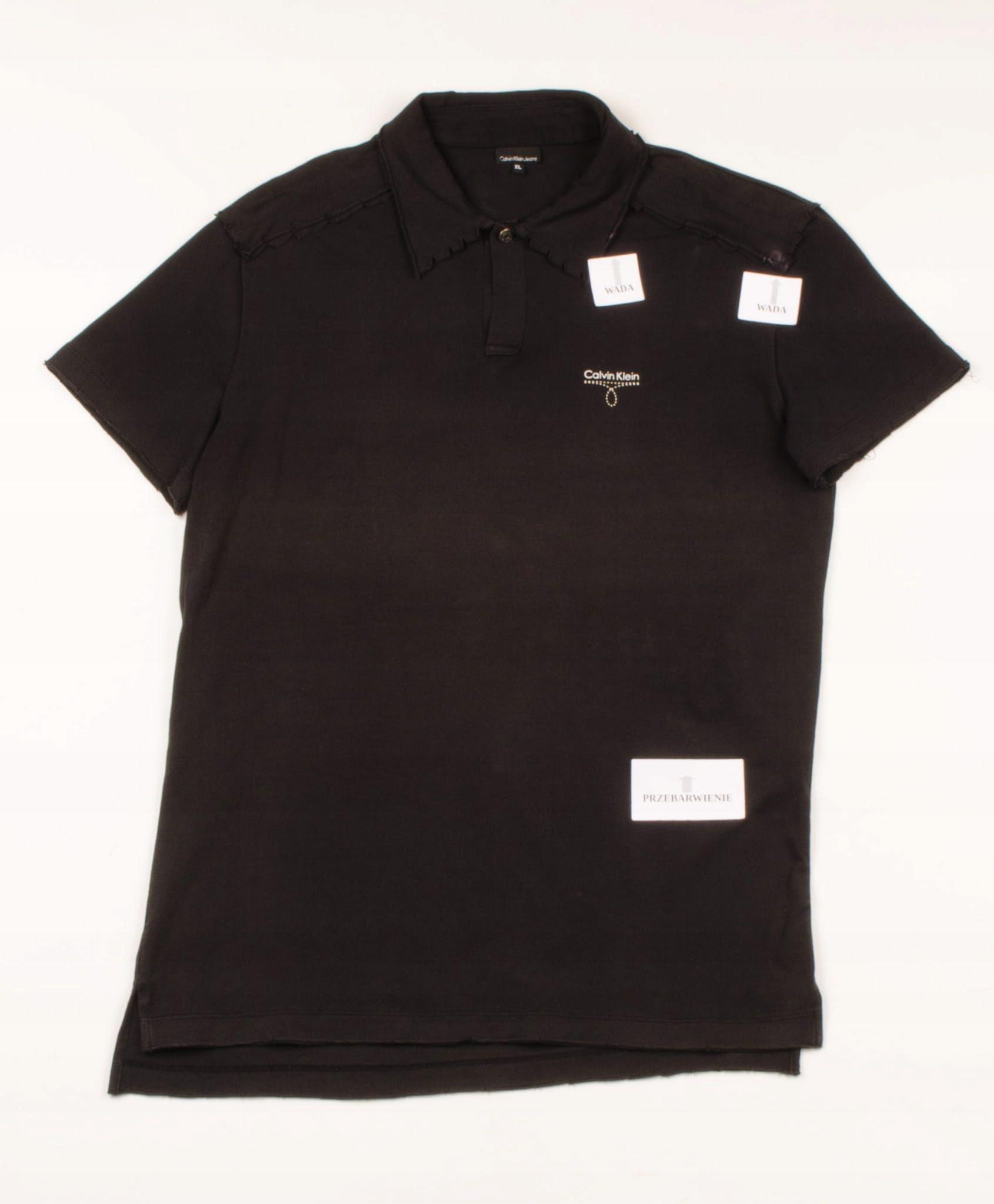 32324 MICRO WADA Calvin Klein Polo Męska XL