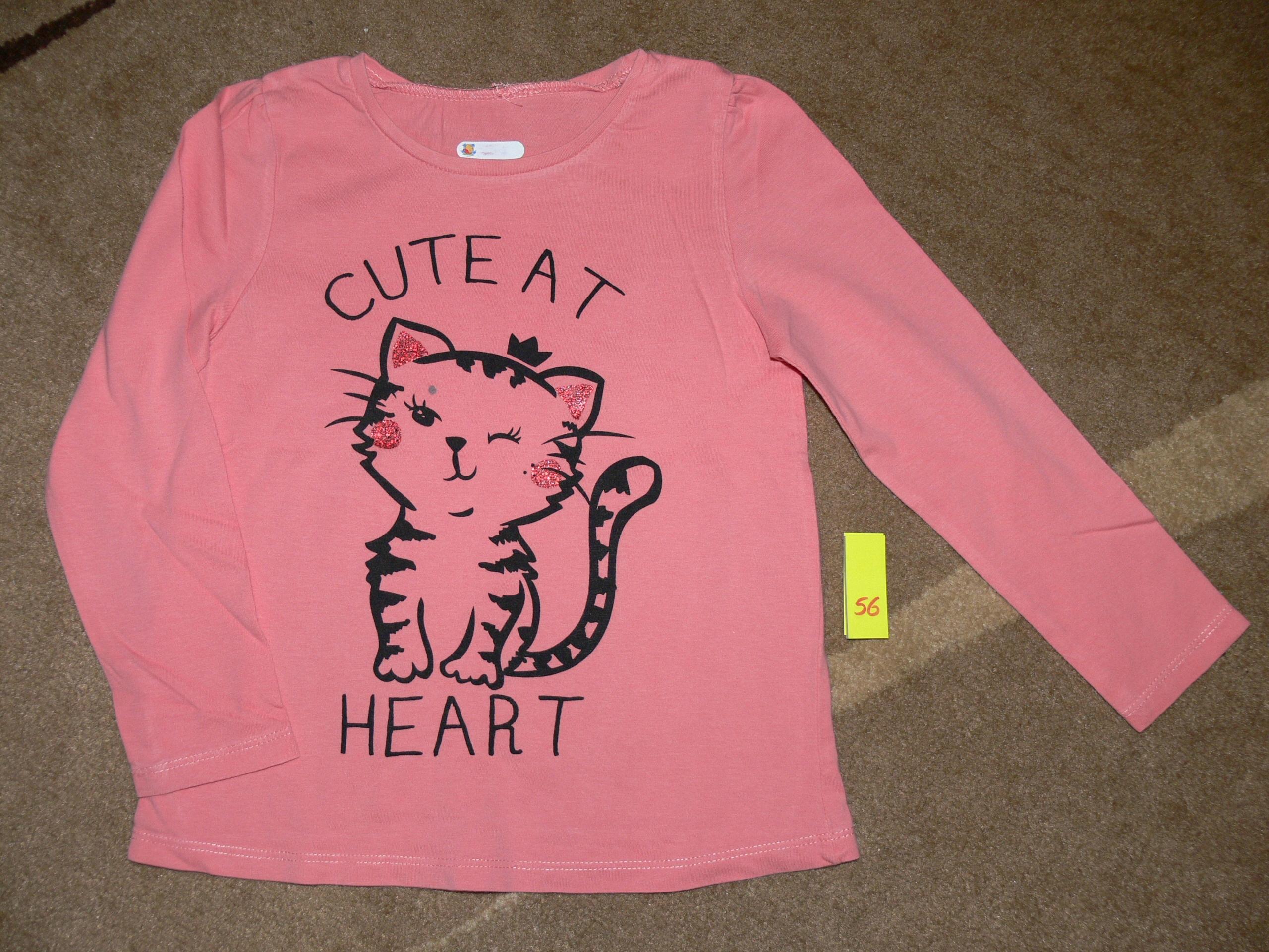 Bluzeczka z kotkiem r. 116