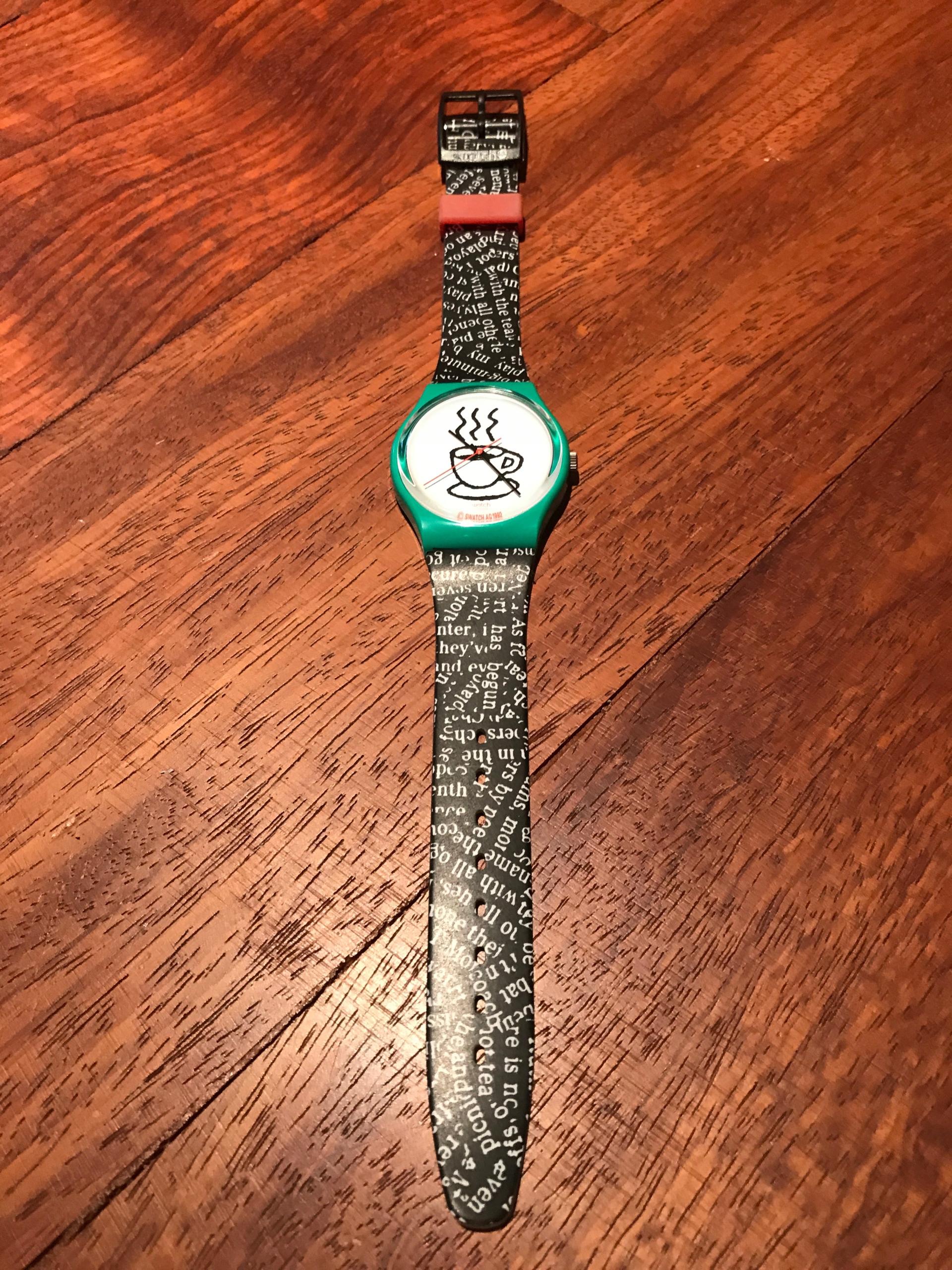 Zegarek Swatch BCM ! ! !