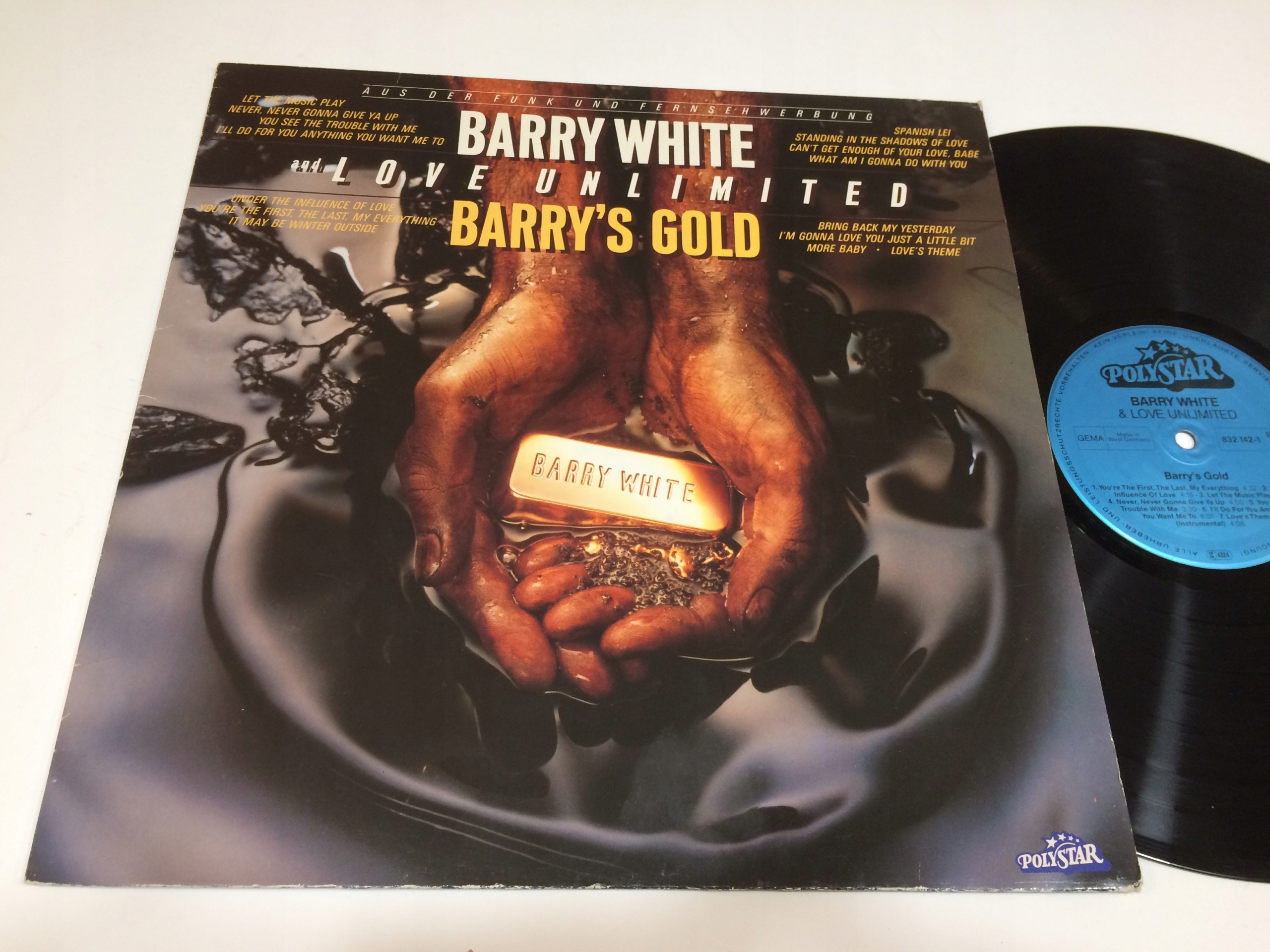 Barry White And Love Unlimited Barry's Gold //1590