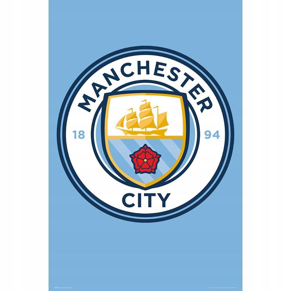 Plakat Manchester City F.C. 61 cm x 91,5 cm