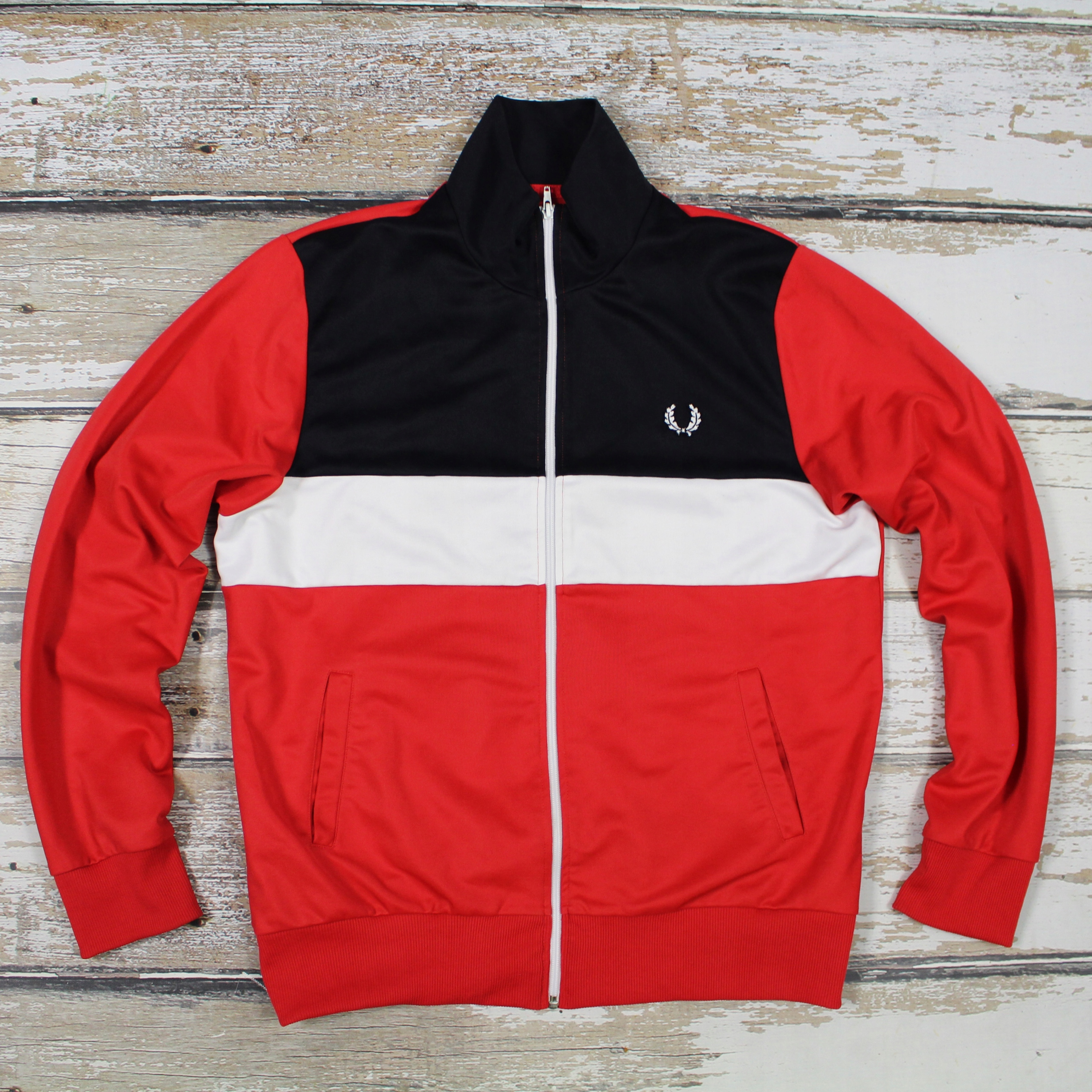 Bluza FRED PERRY Laurel Long Sleeve Vintage Style