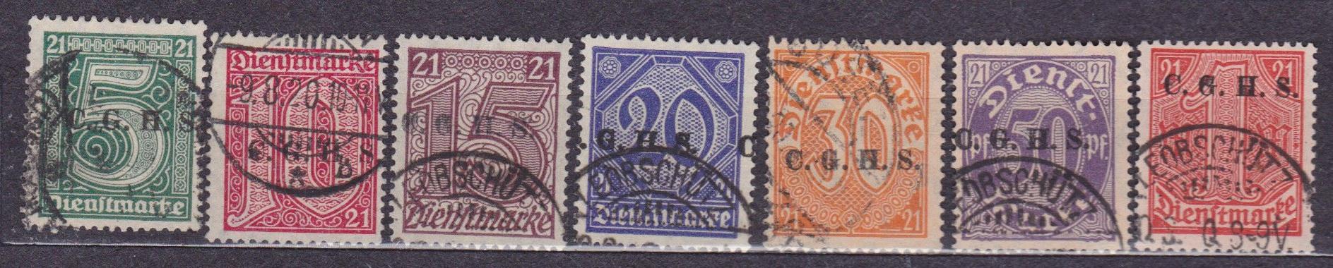Plebiscyty - 1920, Górny Śląsk, Fi U1 - 7, kasowan