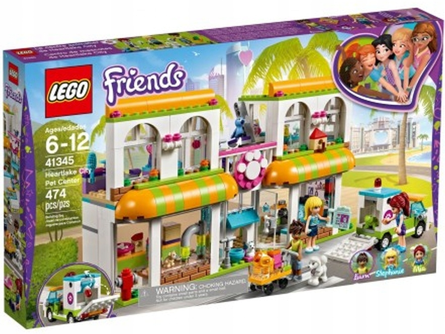 Lego Friends At At At Centrum Zoologiczne At At At 41345 7729853569