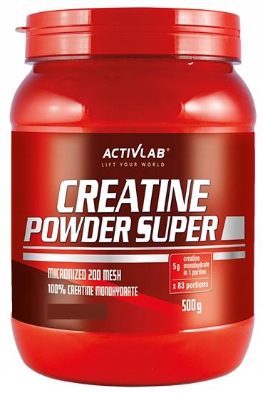 Activlab - Creatine Powder Super 500g cytryna