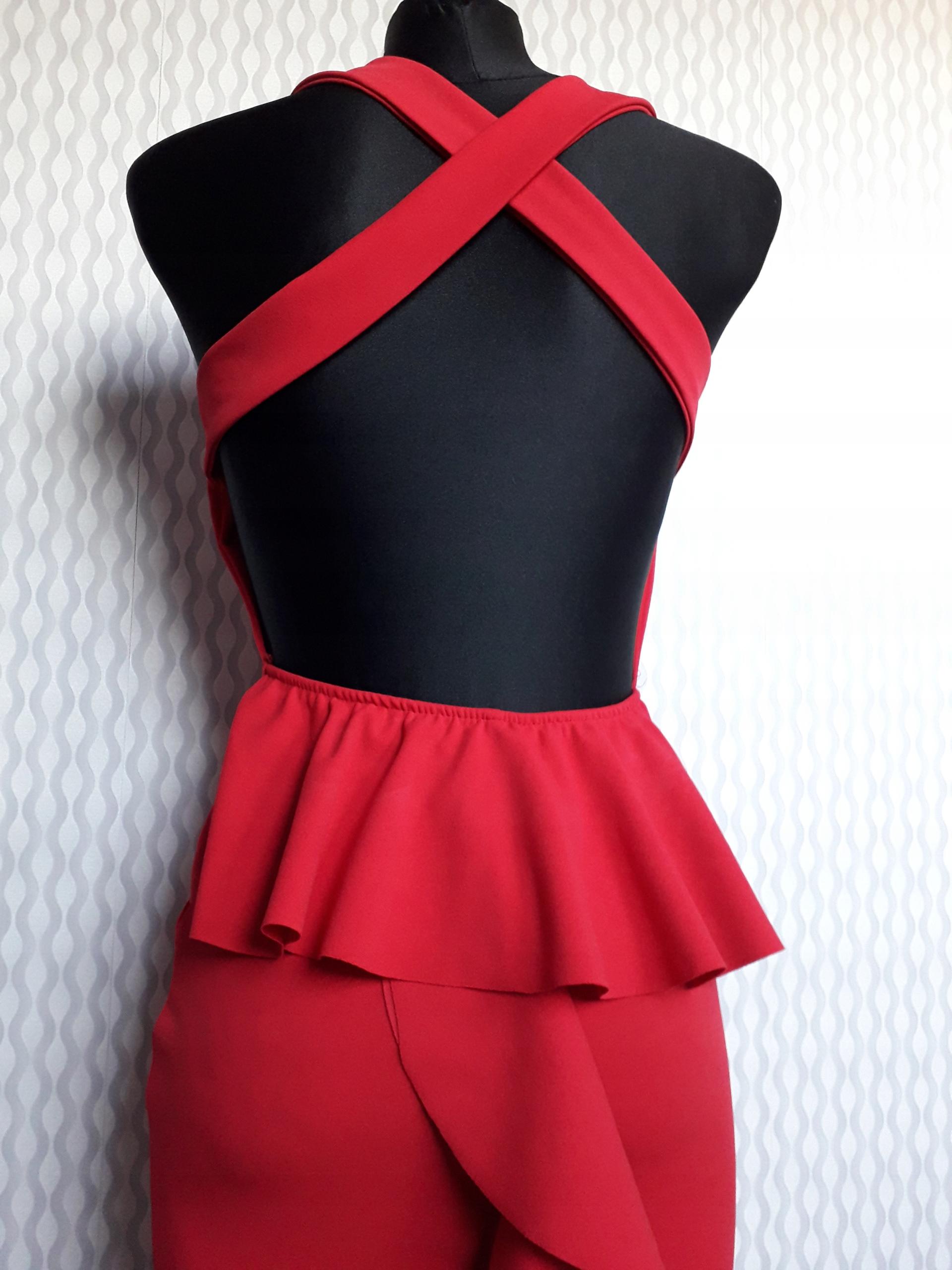 52cec0a25d Sukienka syrena czerwonA sklep chicaca rybnik - 7803627492 ...