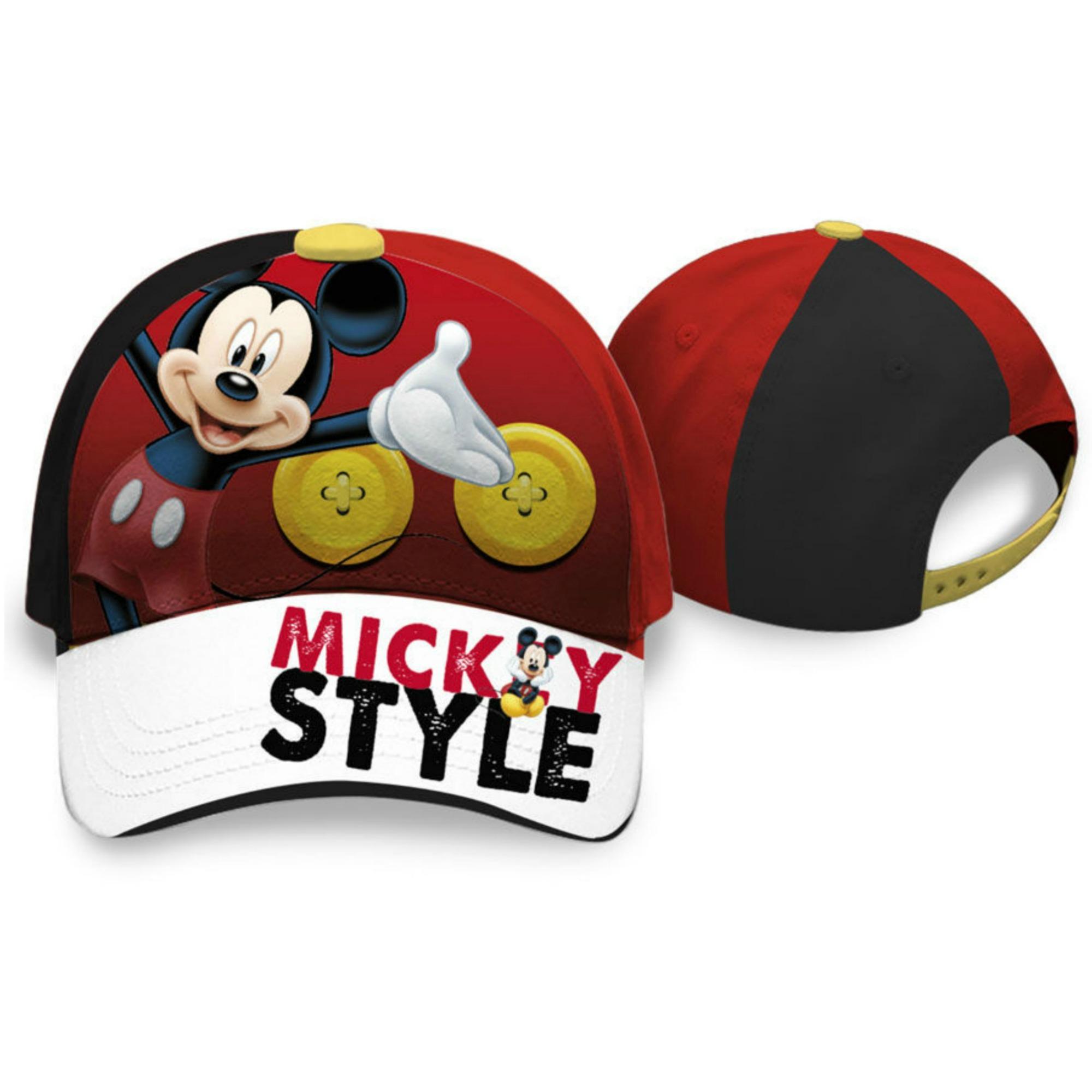 Czapka z daszkiem Myszka Mickey 54 w3