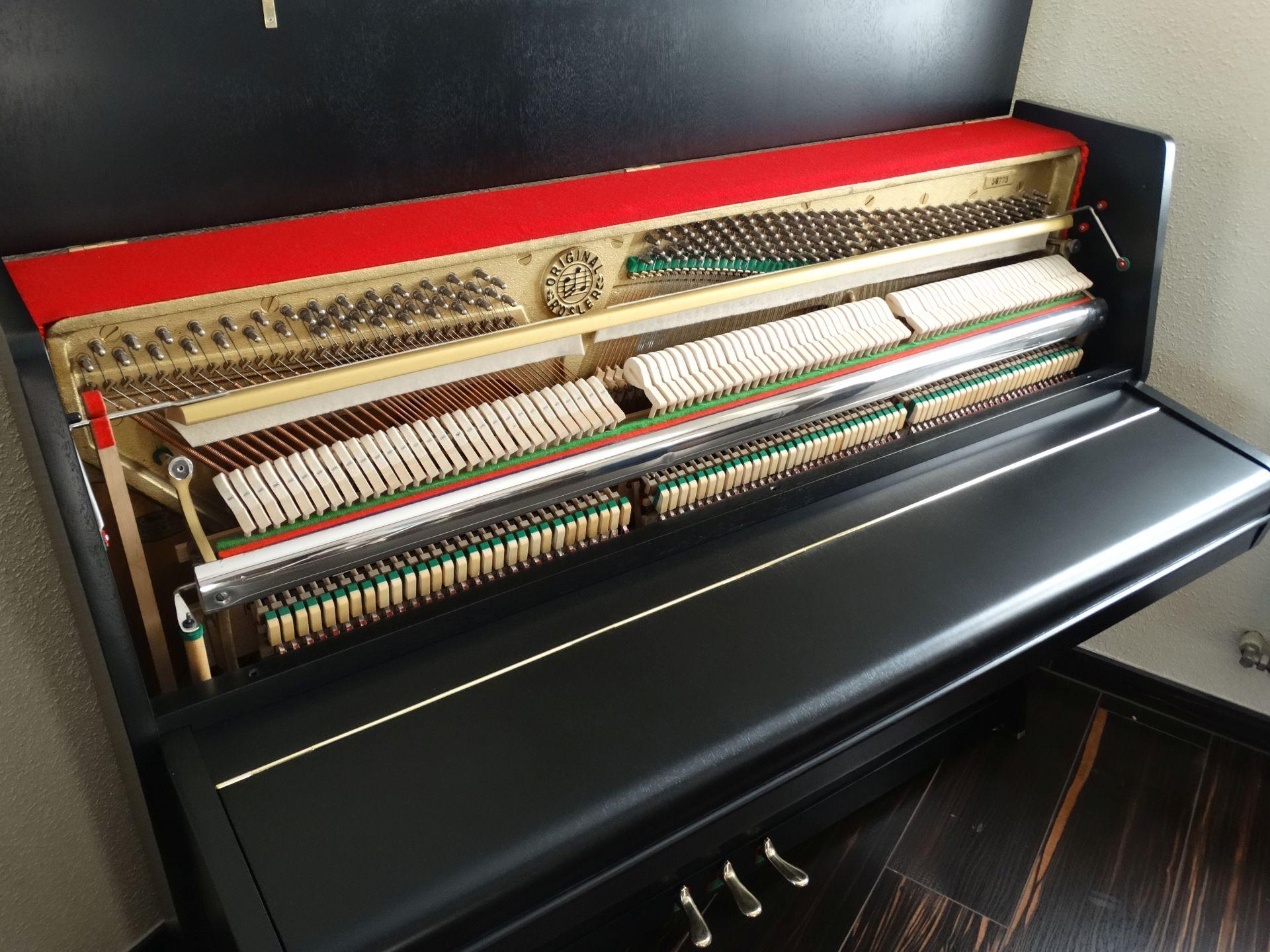czarne pianino rosler petrof idealne gwarancja