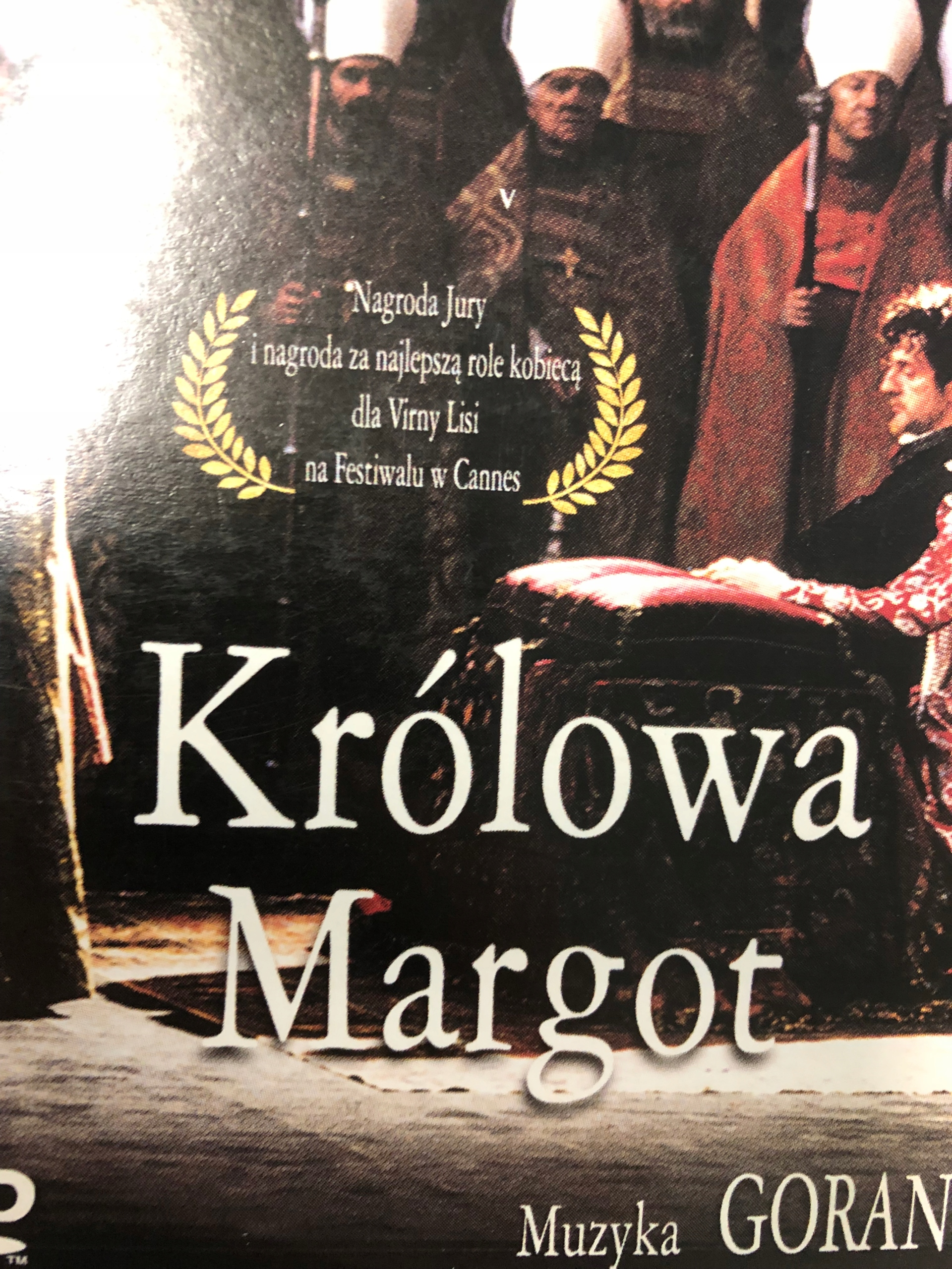 KRÓLOWA MARGOT DVD F83