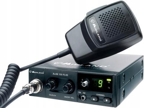 Cb Radio MIDLAND ALAN 100 Plus + ANTENA