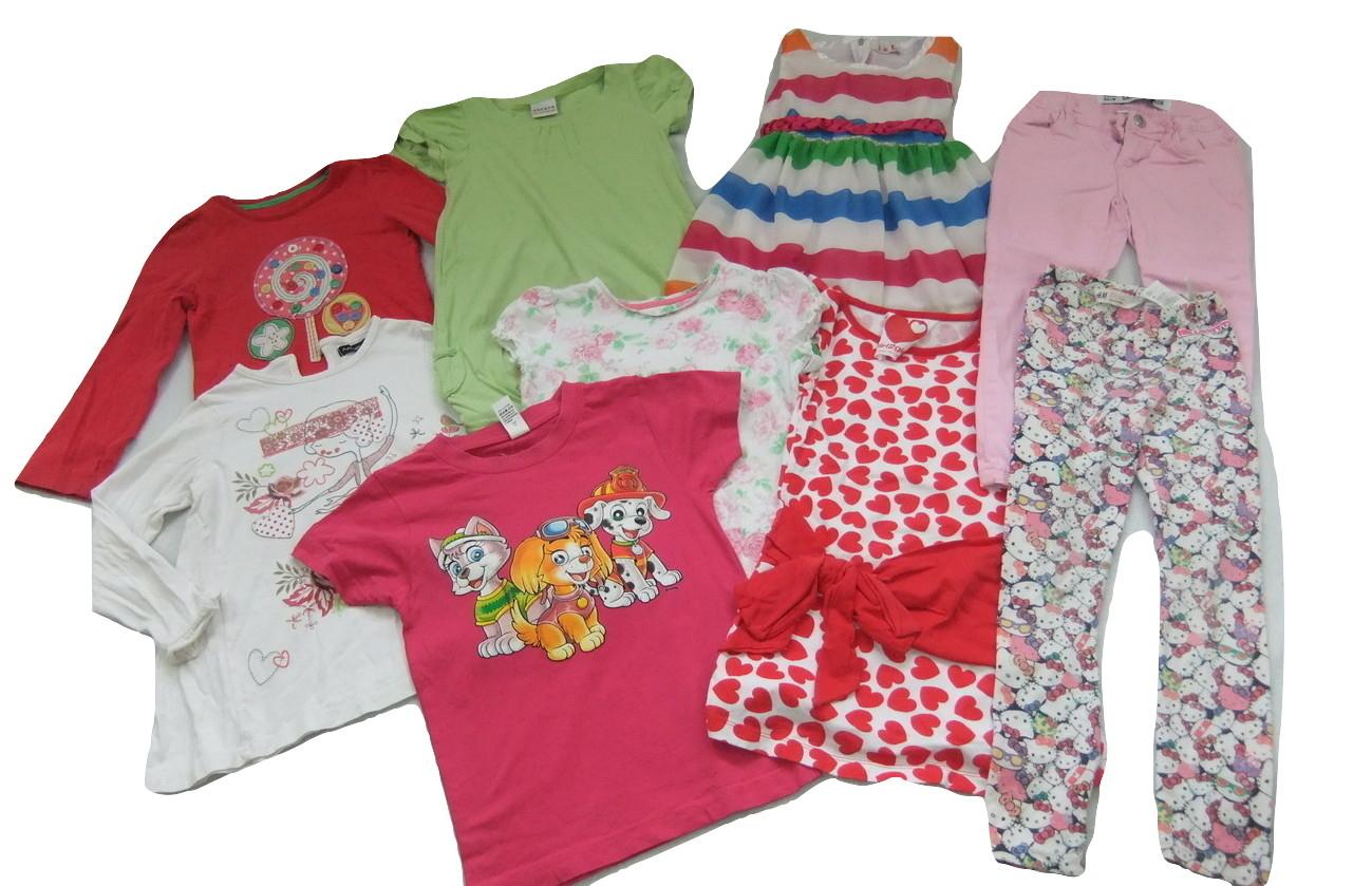 zestaw ubrań dla dziewczynki 98/104 3-4 lata