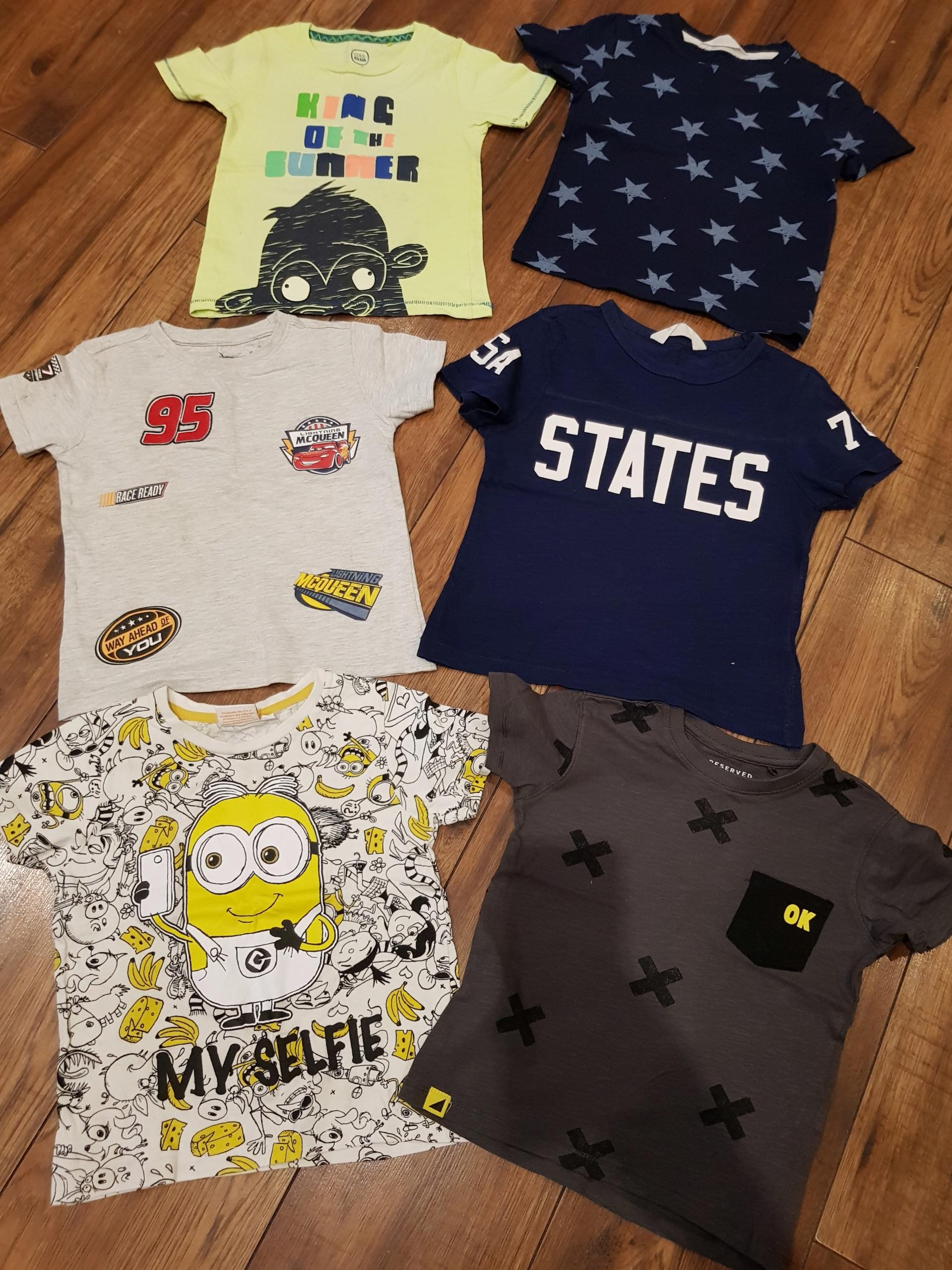 Zestaw ciuszkow koszulki98-110 Reserved Smyk
