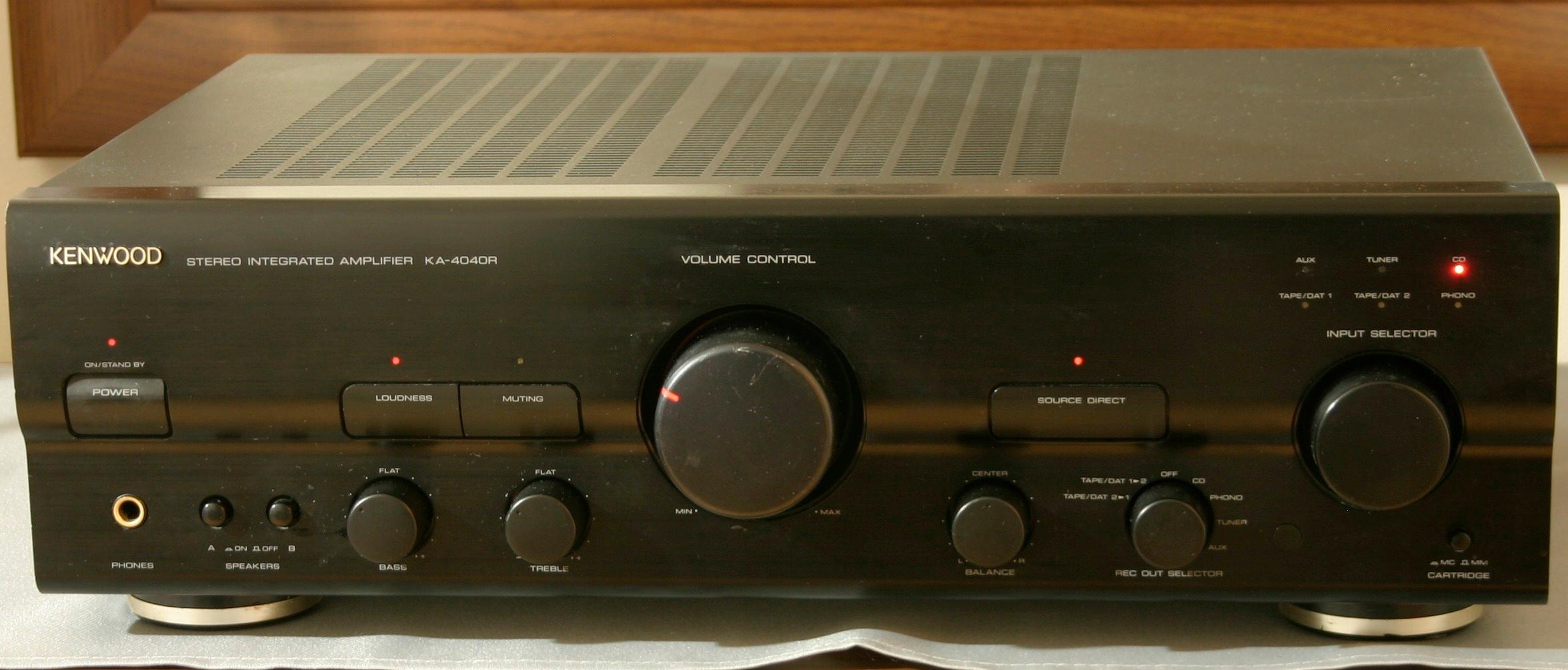 Wzmacniacz stereo Kenwood KA-4040R Japan od 1zl