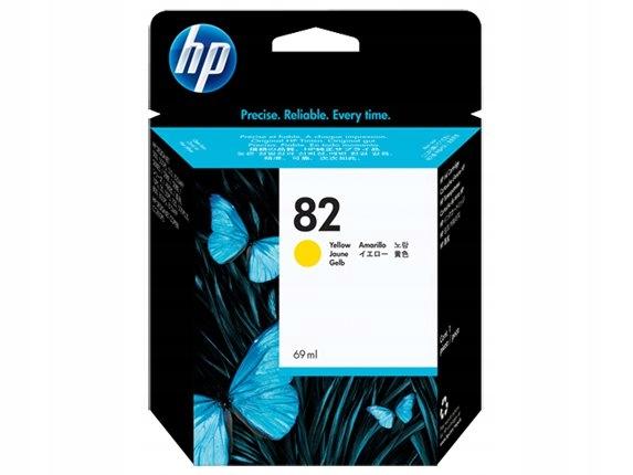 HP INC. Tusz nr 82 Żółty C4913A