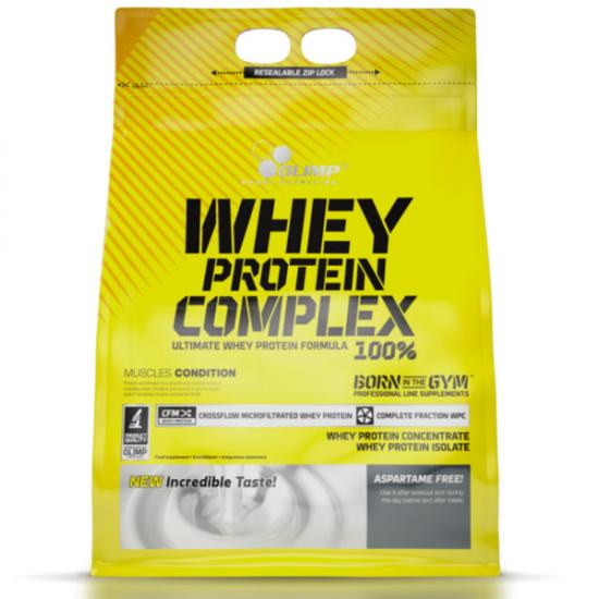 OLIMP Whey Protein Complex 700g białko truskawka