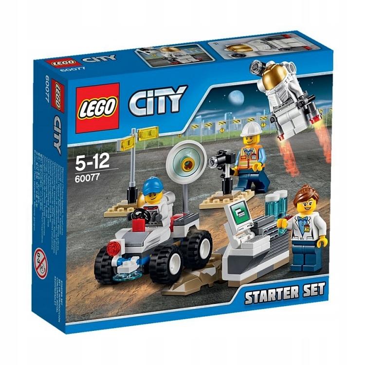 LEGO CITY Kosmos zestaw startowy 60077