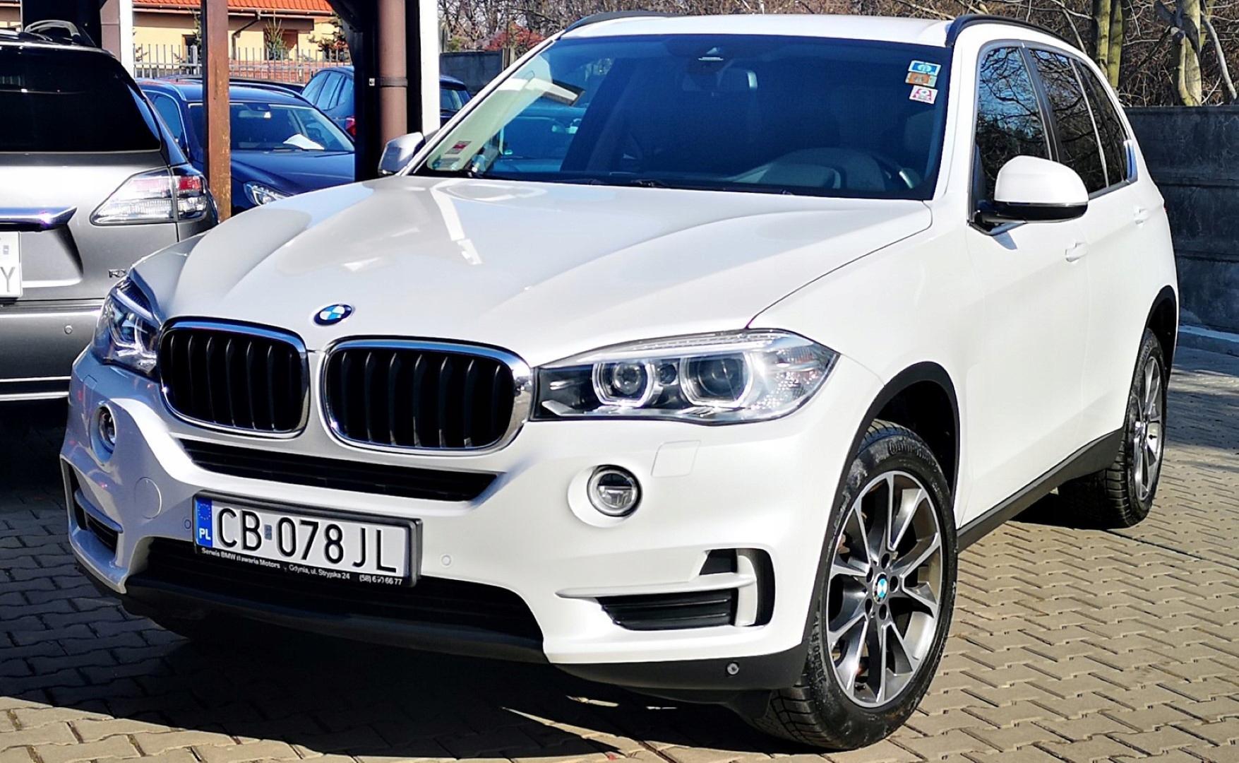 BMW X5 Salon PL 1 ręka Oryg.Lakier ASO Biała Perła