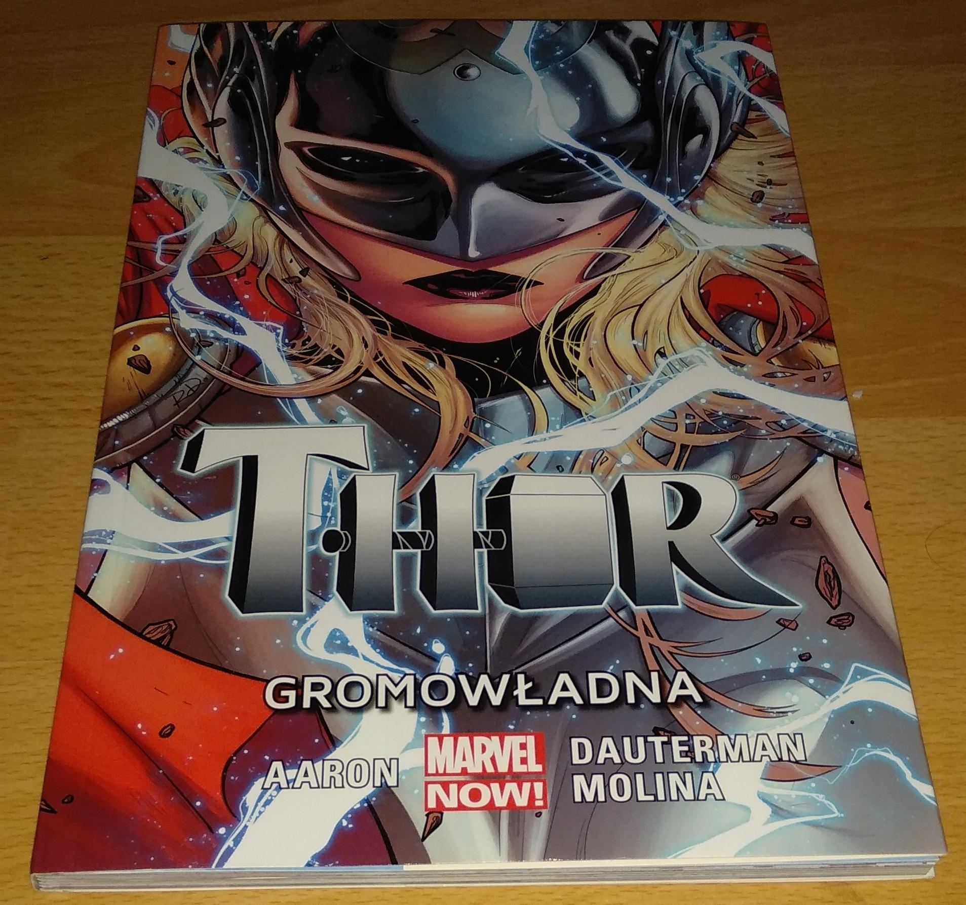Thor Gromowładna Tom 1 komiks Marvel
