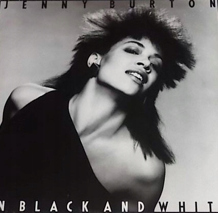 Jenny Burton - In Black And White (Lp) Super Soul