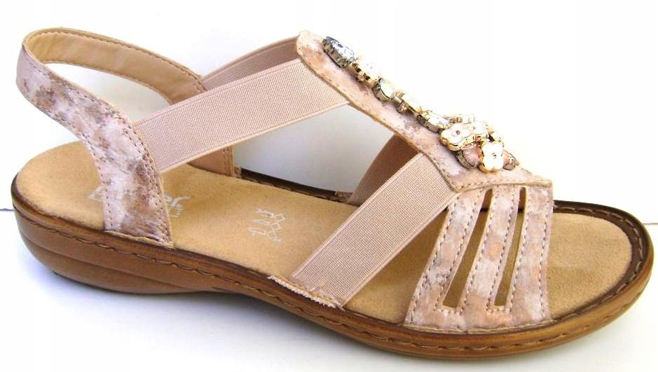 RIEKER Wz. 60855-31 roz.38 sandały