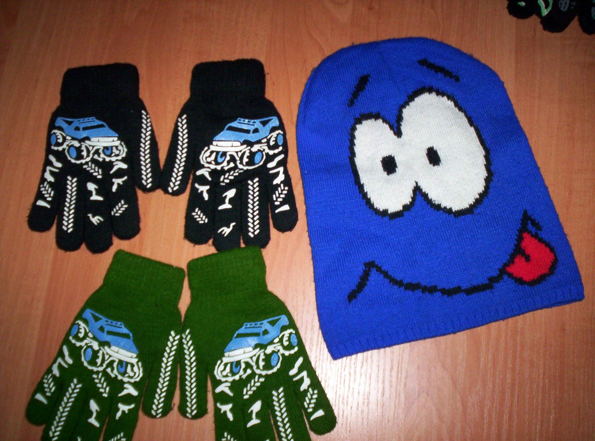 2 pary rękawiczek + gratis