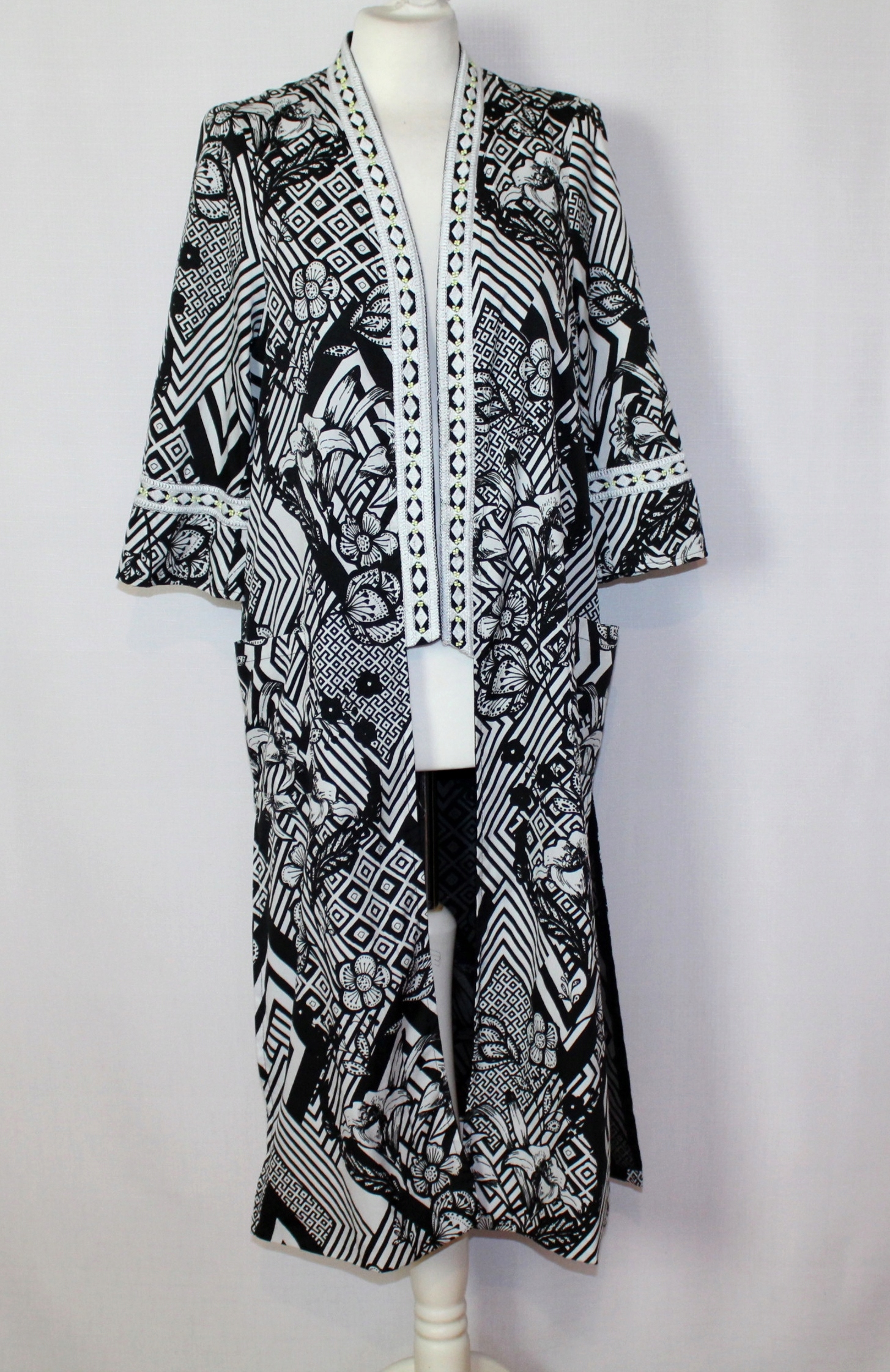 Lekka narzuta kimono we wzory RIVER ISLAND 42/14