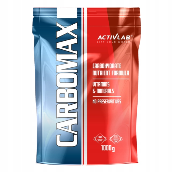 Activlab CarboMax Energy Power - 1kg pomarańcz