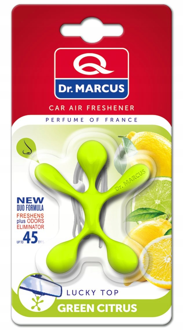 Dr. Marcus Lucky Top Green Citrus ludzik zapachowy