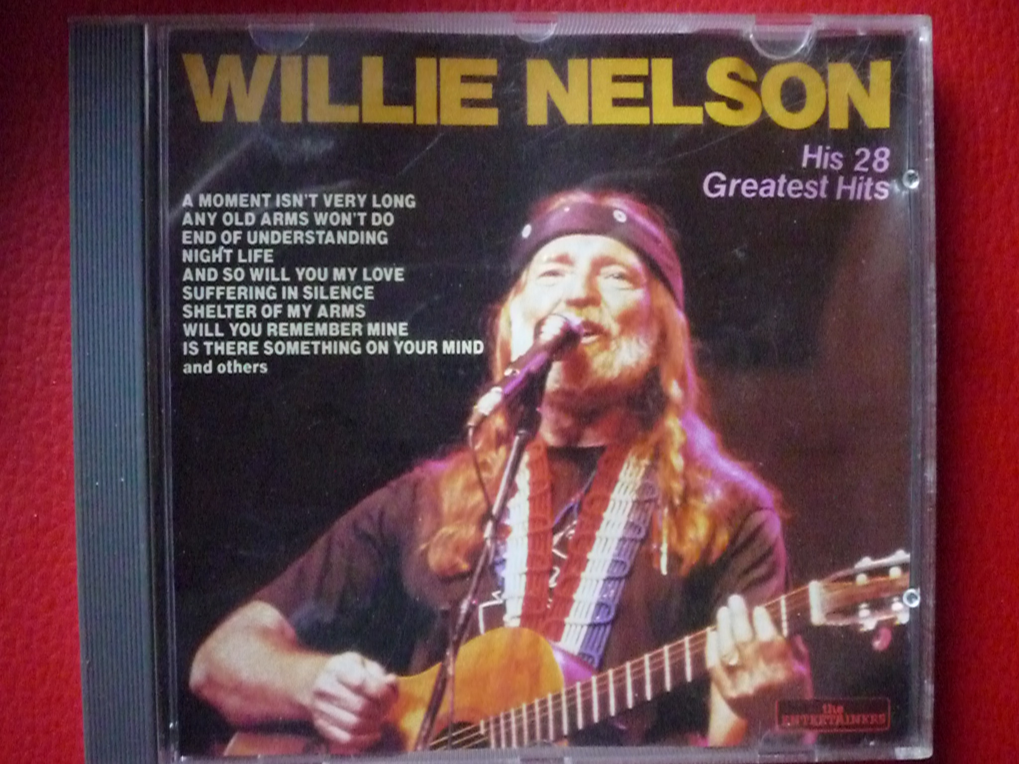 WILLIE NELSON HIT 28 GREATEST HITS CD