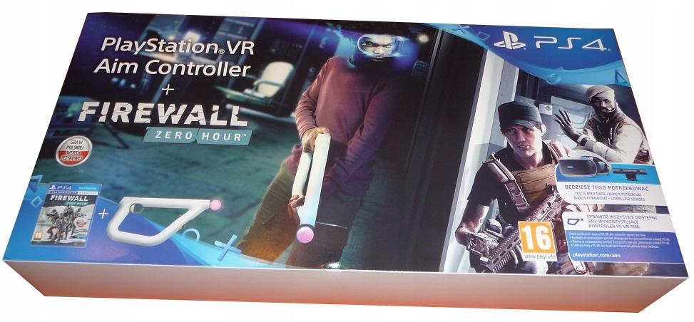 Aim Controller + gra Firewall do PS4 VR *Wejherowo