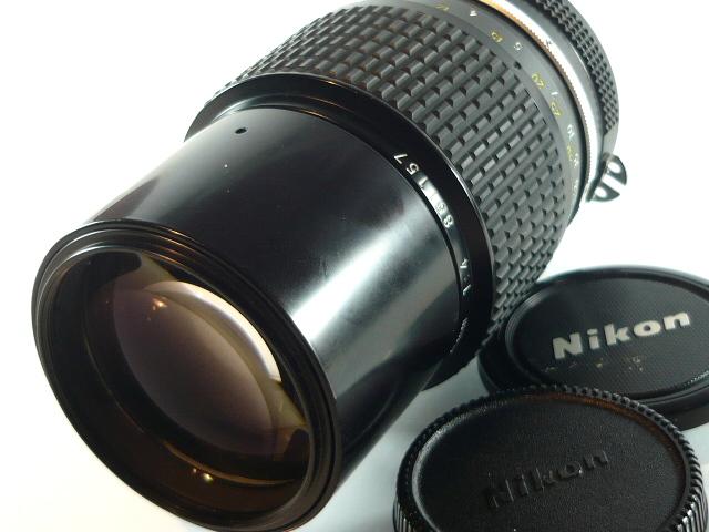 Nikkor 200/4 AI -metalowy bagnet.znakomity stan.#