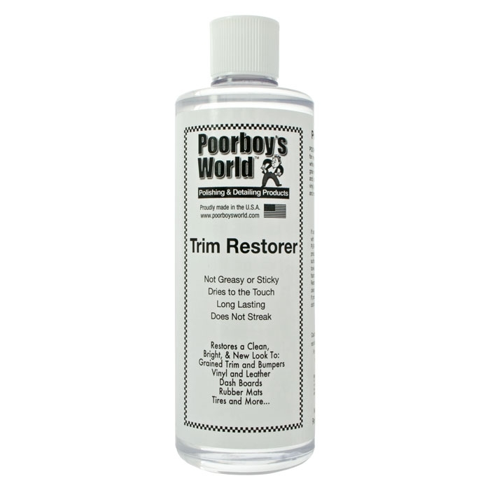 Poorboys World Trim Restorer 473ml dressing zew