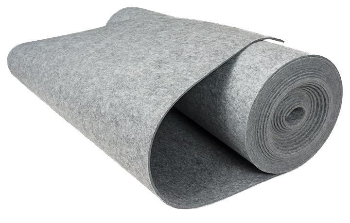 Filc SZARY 10 mm 1200 g/m2 na torebki etui -1.5 m2