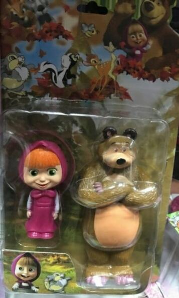Nowe figurki Masza i Niedźwiedź 6cm i 13cm
