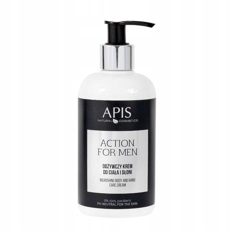 APIS Action for Men - Odżywczy krem do ciała i dło