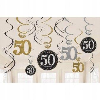 świderki Na 50 Urodziny Dekoracje Ozdoba 7567445397