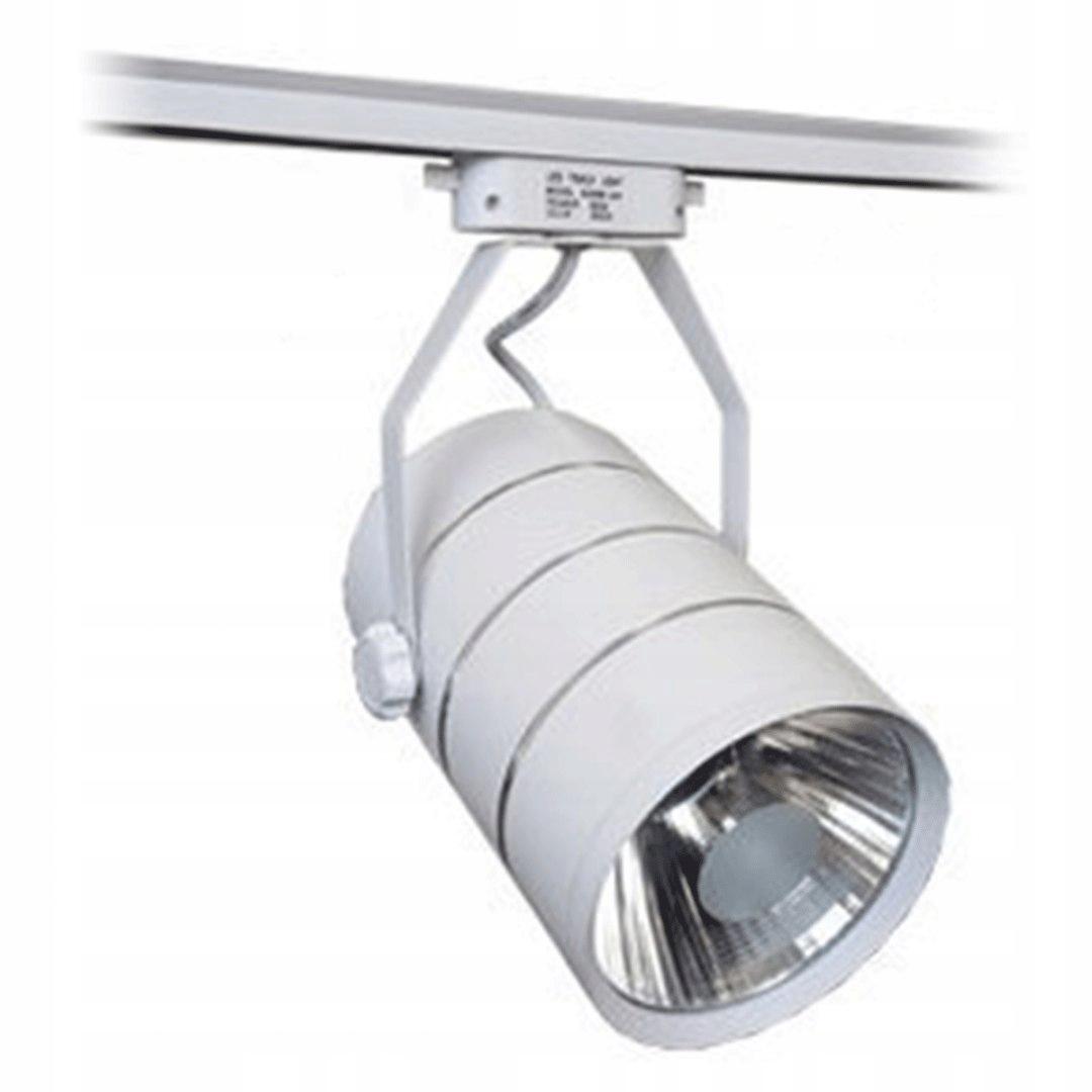 Oświetlenie Sklepowe Led 30w Spot Biała Lampa Cob