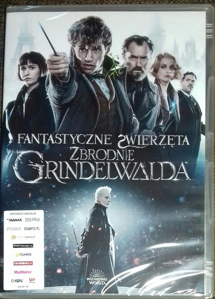 Płyta DVD Fantastyczne Zwierzęta Zbrodnie Grindelw