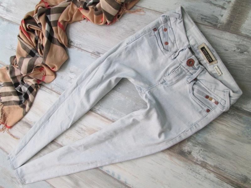 RIVER ISLAND__STRETCH jeans rurki__32/34