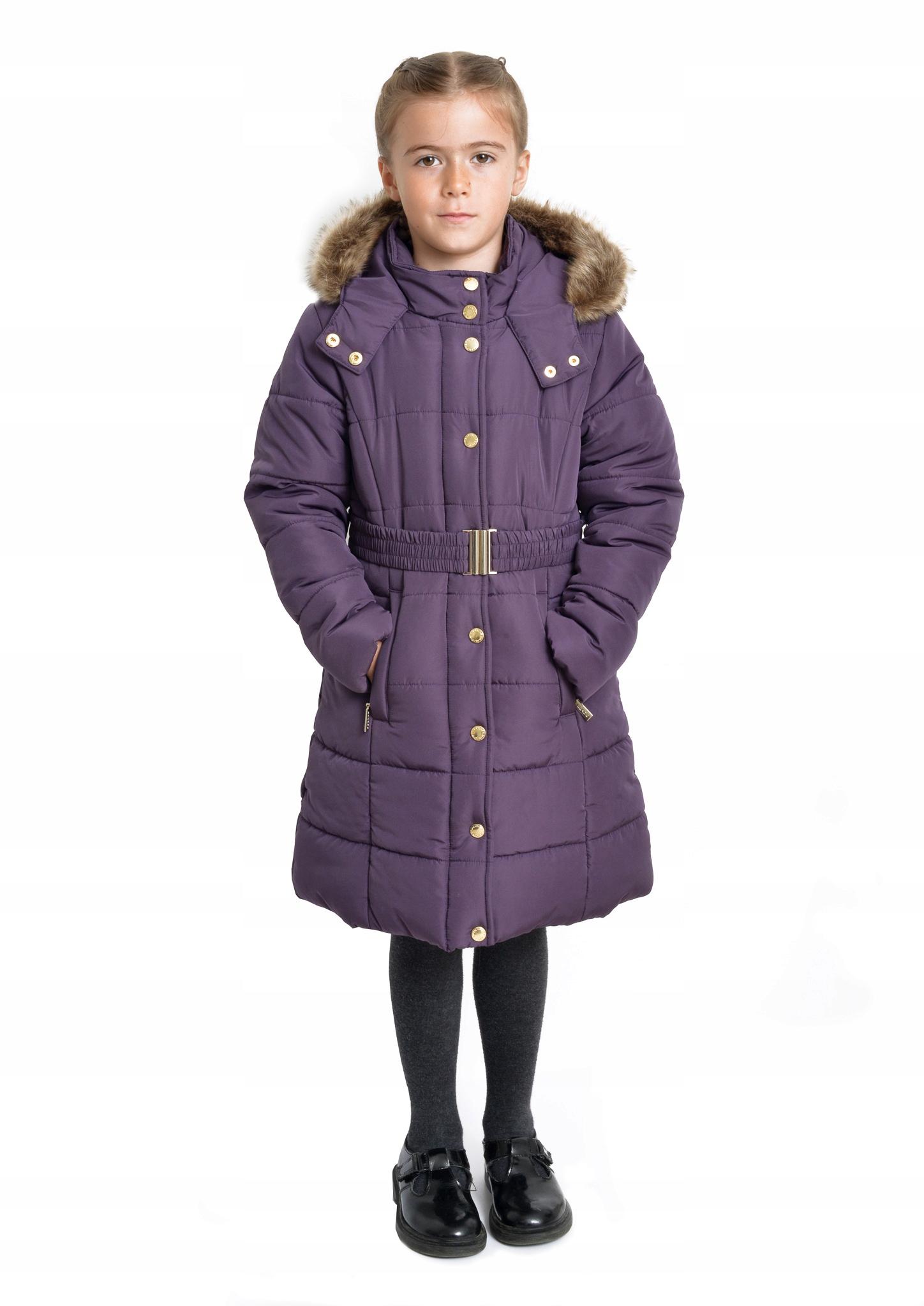 Nowy płaszcz GIANNI FERAUD dla dziewczynki r. 110