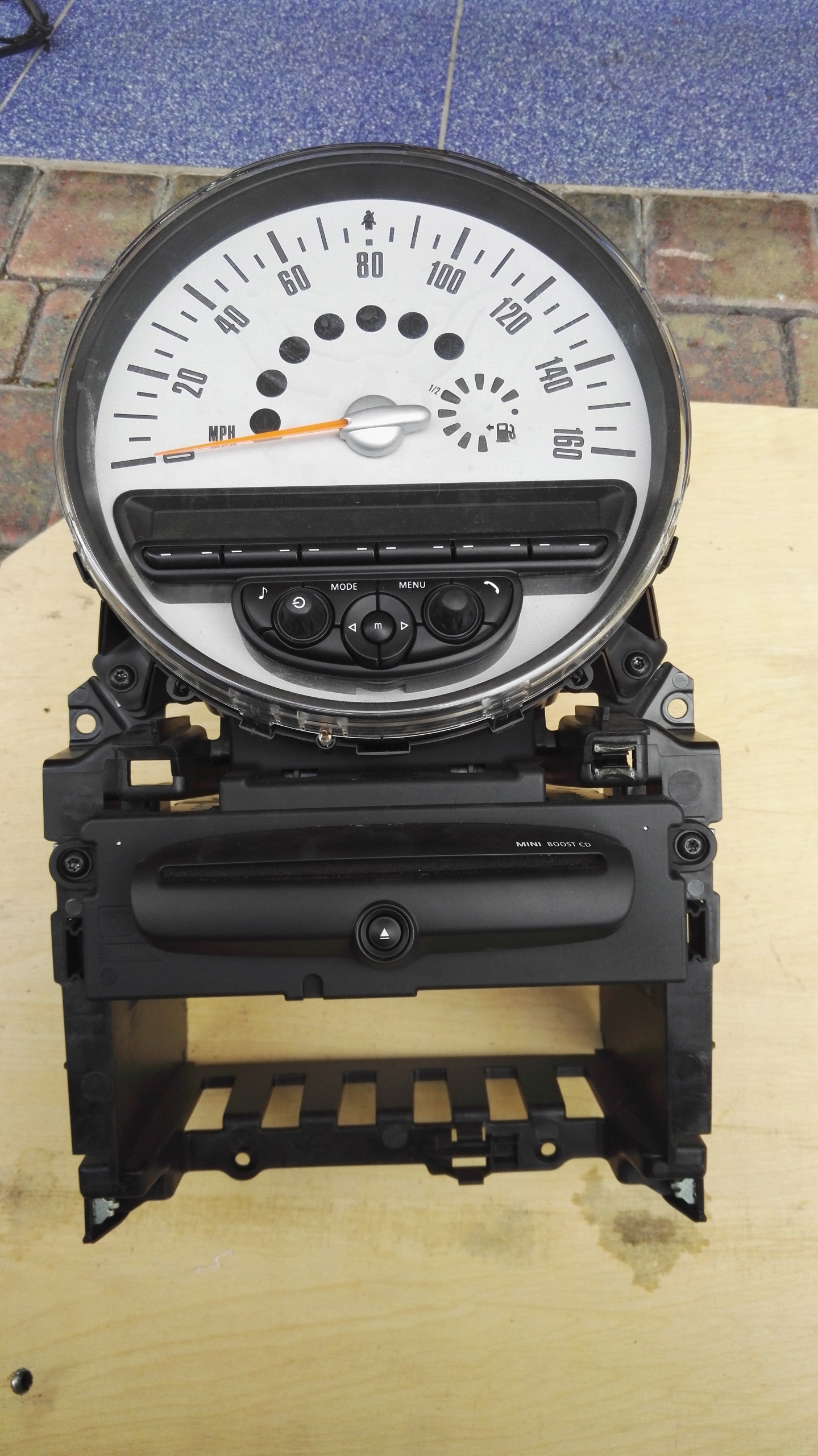 Radio Boost CD Mini Coooper R56, 3456871,bluetooth