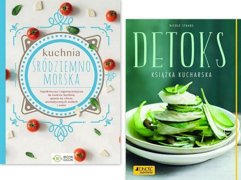 Kuchnia śródziemnomorska Detoks Książka Kucharska