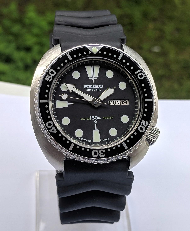 Seiko Turtle Diver Automatic 6309-7040 werk 6306A