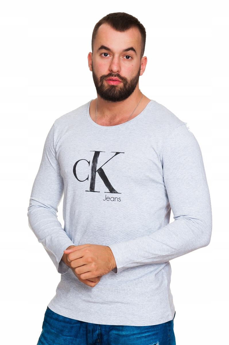 CALVIN KLEIN Longsleeve Bluza XL 14126 SOPOT