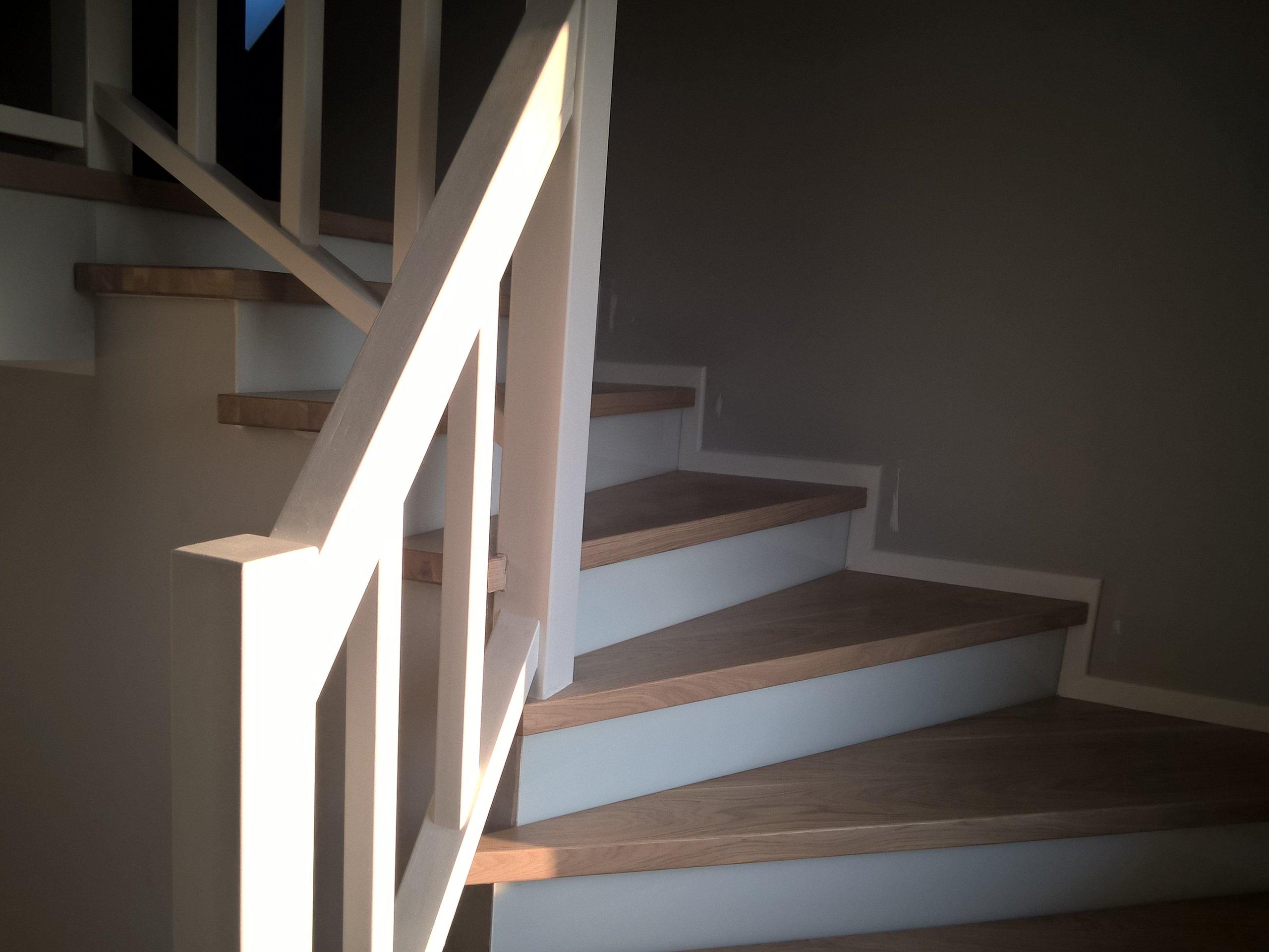 Oblogowane Schody Trepy Stopnie Debowe Drewniane 7041925094