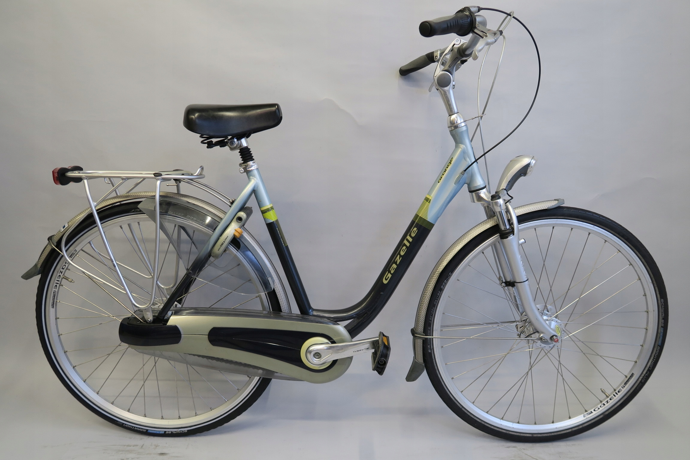 Wygodny i zadbany rower holenderski Gazelle Orange