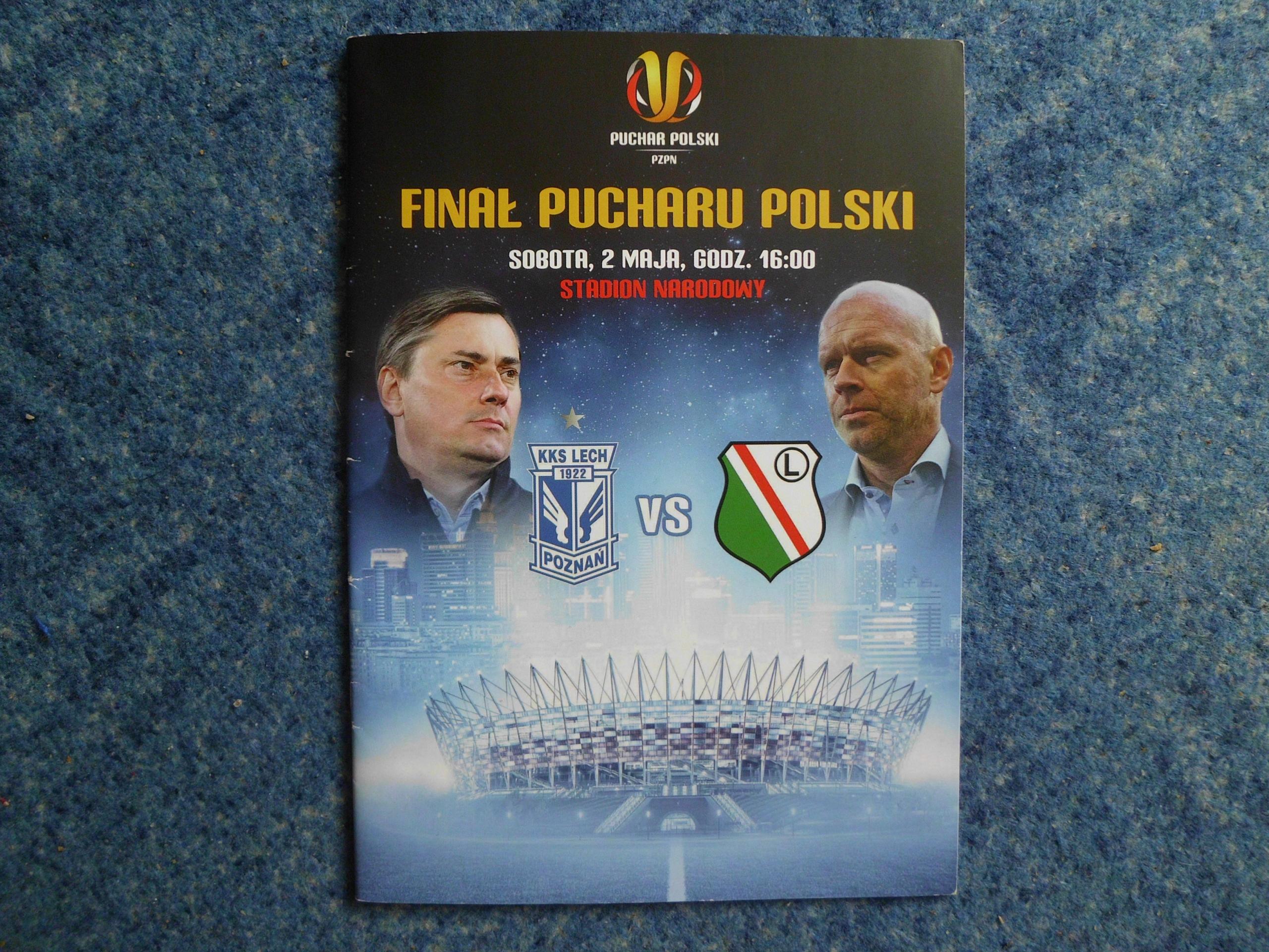 FINAŁ PUCHARU POLSKI LECH-LEGIA 02.05.2015